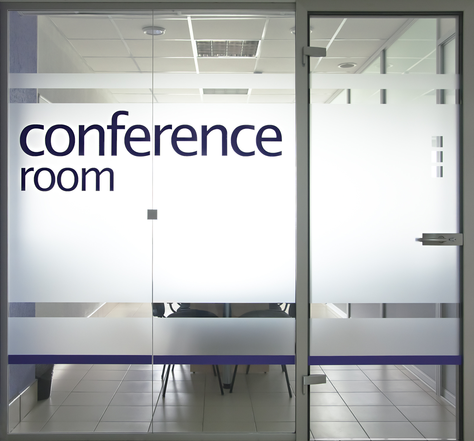 Conference Room Names On Glass