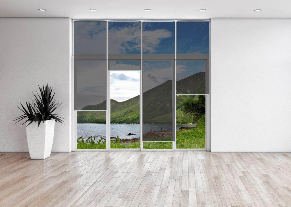 Solar anti glare window blinds coatek window tinting for Sunlight windows